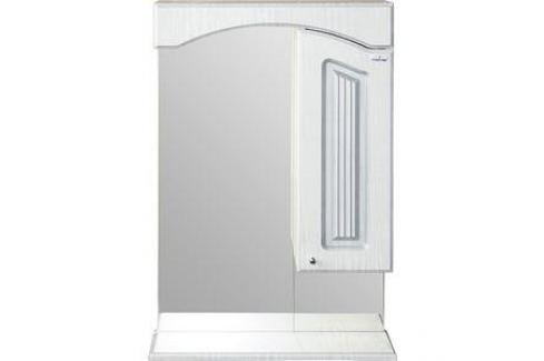 Шкаф навесной Mixline Крит 55 патина серебро (2405175331344) Мебель для ванных комнат