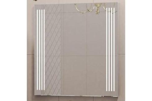 Зеркало Opadiris Оникс 80 с подсветкой и сенсорным выключателем (Z0000005739) Мебель для ванных комнат