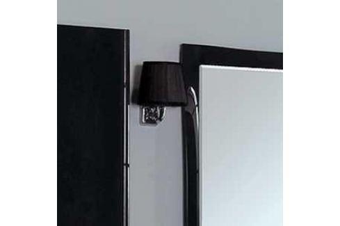 Светильник Акватон 3012/m/cr хром плафон черный (FU0003961) Мебель для ванных комнат