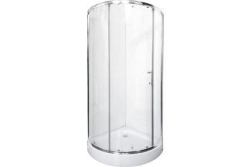 Душевой уголок Rush Devon 81,7x81,7 см профиль хром, стекло прозрачное (DE-R18080) Душевые уголки