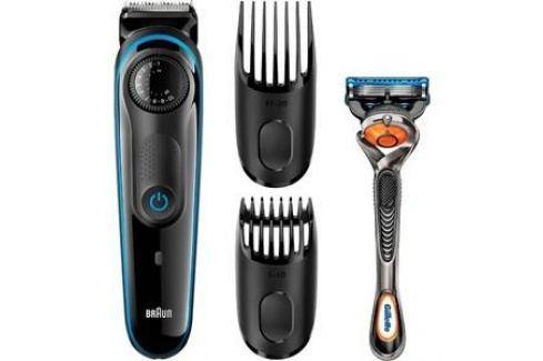 Машинка для стрижки волос Braun BT3040+RZR Машинки для стрижки волос