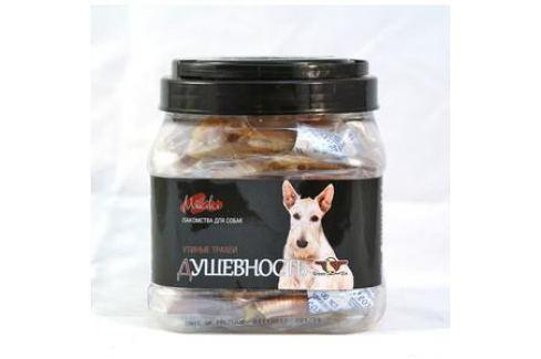 Лакомство GreenQZin Miniki Душевность утиные трахеи для собак мелких пород 200г (DkTh200Pc) Лакомства