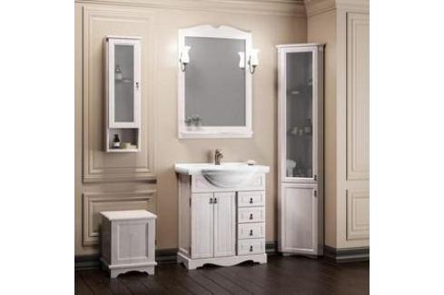 Тумба с раковиной Opadiris Клио 70 белый (Z0000001577 + 00000000900) Мебель для ванных комнат