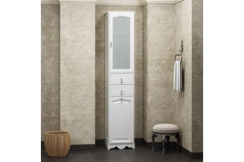 Пенал Opadiris Риспекто 40 белый правый (Z0000000599) Мебель для ванных комнат