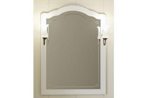 Зеркало Opadiris Лоренцо 80 белый, для светильников 00000001041, Z0000001408 (Z0000008464) Мебель для ванных комнат