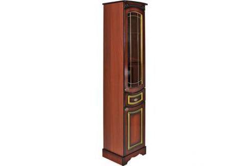 Пенал Mixline Рандеву 35 стеклянная створка (2070705126136) Мебель для ванных комнат