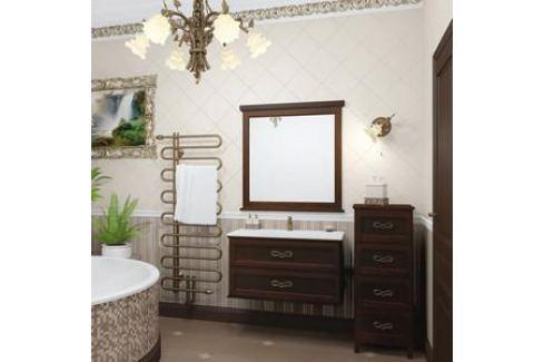 Тумба с раковиной Opadiris Гарда 90 антикварный орех (Z0000003485 + Z0000000492) Мебель для ванных комнат