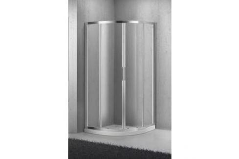 Душевой уголок BelBagno SELA-R-2-95-Ch-Cr стекло Chinchilla Душевые уголки
