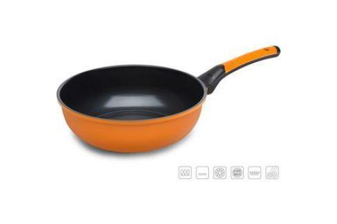 Сковорода-вок d 28 см Oursson Pallete Anionic Ceramic (PW2802C/OR) Сковороды
