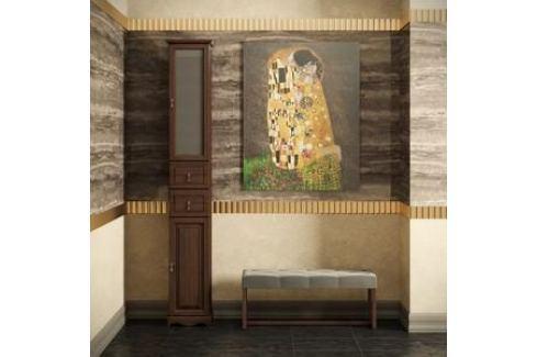 Пенал Opadiris Риспекто 40 антикварный орех левый (00000000798) Мебель для ванных комнат