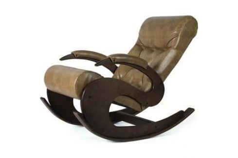 Кресло-качалка Мебелик Тенария 6 кофе с молоком Кресла-качалки