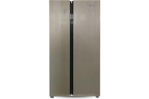 Холодильник Ginzzu NFK-530 Gold glass Электроника и оборудование