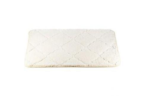 Коврик для ванной Brissen 50х80 см, Quiet White микрофайбер (BSM-21-0217-White) Аксессуары для ванной