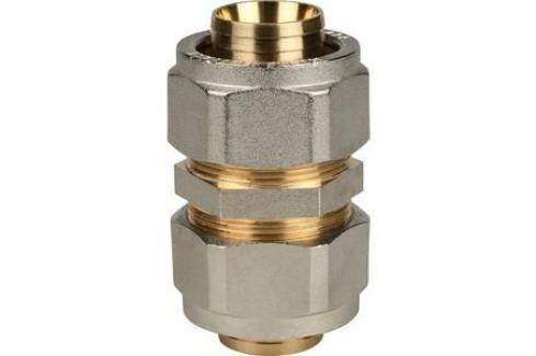 Соединение STOUT 32х32 для металлопластиковых труб винтовой (SFS-0005-000032) Для металлопластиковых и труб из сшитого полиэтилена