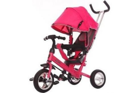 Велосипед 3-х колесный Moby Kids Start 10x8 EVA розовый 641046 Трехколесные велосипеды