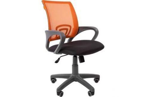 Офисноекресло Chairman 696 серый пластик TW-12/TW-66 оранжевый Компьютерные кресла