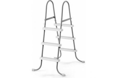 Лестница для бассейнов Intex до 107 см 3 ступеньки без площадки с защитой 28075 Лестницы