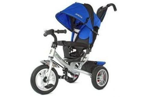 Велосипед 3-х колесный Moby Kids Comfort-2 12/10 синий 635204 Трехколесные велосипеды