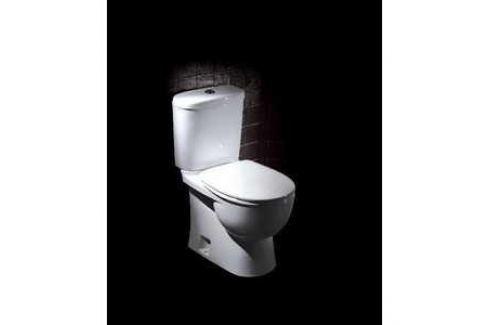 Унитаз компакт SANITA LUXE Art lux 2ой смыв с сиденьем (sl900203) SLDM Унитазы