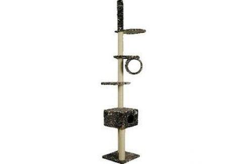 Когтеточка Зооник Комплекс многоэтажный для кошек 480 х 480 х 2500см (22031) Когтеточки