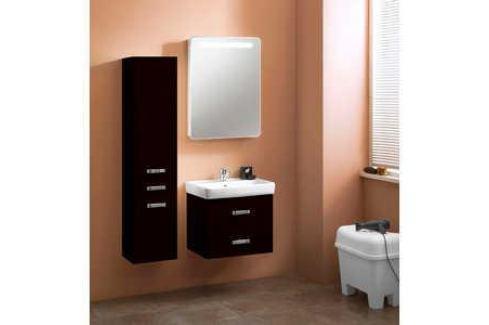 Комплект мебели Акватон Америна 60 чёрная Мебель для ванных комнат