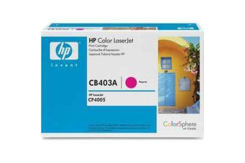 Картридж HP CB403A Расходные материалы