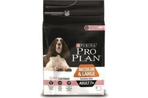 Сухой корм PRO PLAN OPTIDERMA Sensitive Skin Adult 7+Medium & Large лосось для пожилых средних и крупных собак с чувствительной кожей 14кг(12272547) Электроника и оборудование