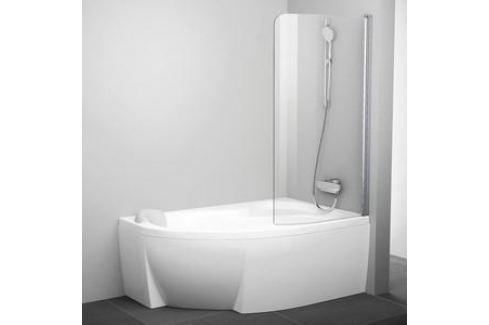 Душевая шторка Ravak Rosa CVSK1 140/150 R Transparent, профиль блестящий (7QRM0C00Y1) Шторки для ванной