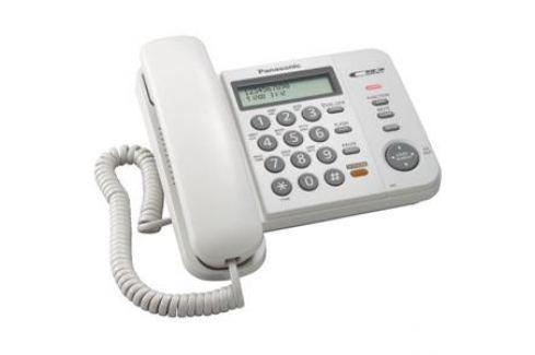 Проводной телефон Panasonic KX-TS2358RUW Проводные телефоны