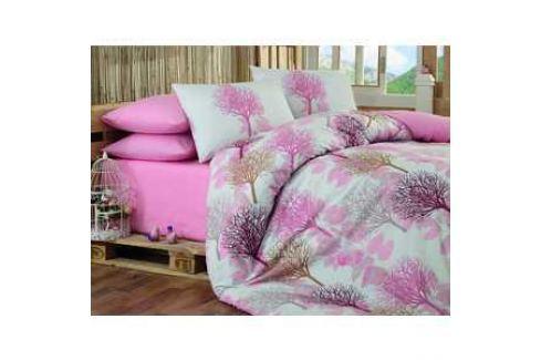 Комплект постельного белья Hobby home collection Евро, ранфорс, Lorella, розовый (1501001133) Электроника и оборудование