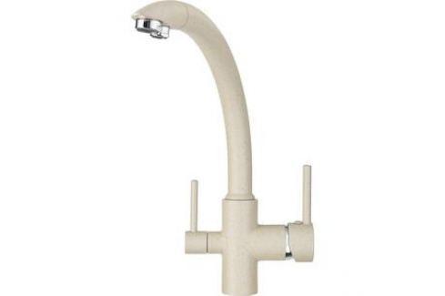 Смеситель для кухни Granula с краном под питьевую воду (GR-2615 песок) Смесители