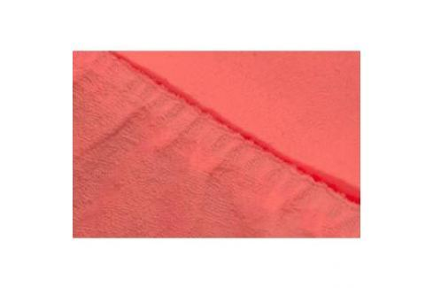 Простыня Ecotex махровая на резинке 140х200х20 см (ПРМ14 коралловый) Простыни