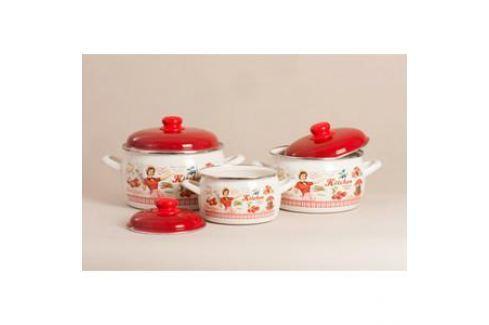 Набор кастрюль 6 предметов Metrot Эксклюзив Винтаж (152606) Наборы посуды
