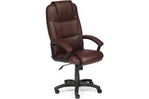 Кресло TetChair BERGAMO кож/зам коричневый 36-36 Компьютерные кресла