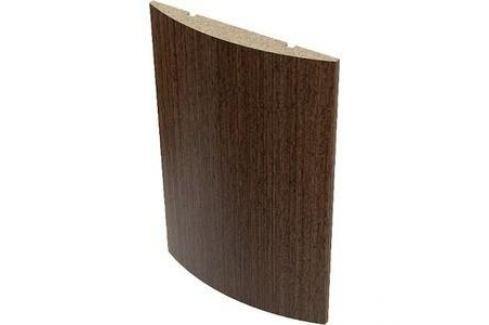 Наличник VERDA МДФ полукруглый облицованный шпоном 2140х70х10 мм (5 шт) Венге Дверные коробки, наличники и доборы