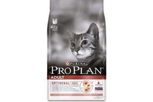 Сухой корм PRO PLAN OPTIRENAL Adult Cat Rich in Salmon с лососем для поддержания здоровья почек для кошек 10кг (12172132) Электроника и оборудование