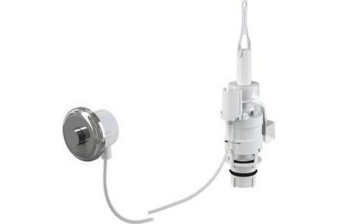 Кнопка пневматического смыва на расстоянии AlcaPlast ручное управление, хром, монтаж в стену (MPO11) Инсталляции