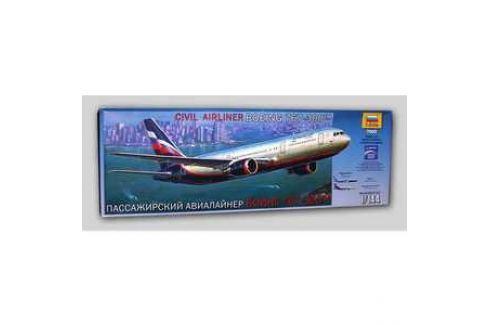 Звезда Модель Пассажирский авиалайнер Боинг 767-300 7005 Игрушки для мальчиков