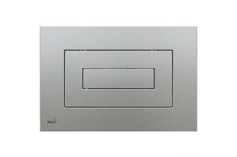 Клавиша смыва AlcaPlast матовый хром (M472) Инсталляции