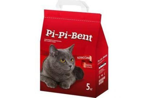 Наполнитель Pi-Pi-Bent Classic комкующийся для кошек 5кг (п/э пакет) Электроника и оборудование