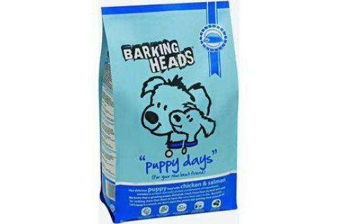 Сухой корм BARKING HEADS Puppy Days with Chicken & Salmon с курицей и лососем для щенков 2кг (0155/18096) Электроника и оборудование
