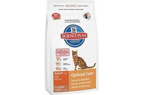 Сухой корм Hill's Science Plan Optimal Care Adult with Lamb с ягненком для кошек 5кг (5143) Электроника и оборудование