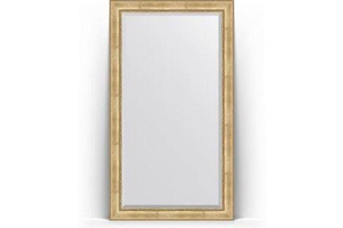 Зеркало напольное с фацетом поворотное Evoform Exclusive Floor 117x207 см, в багетной раме - состаренное серебро с орнаментом 120 мм (BY 6178) Мебель для ванных комнат