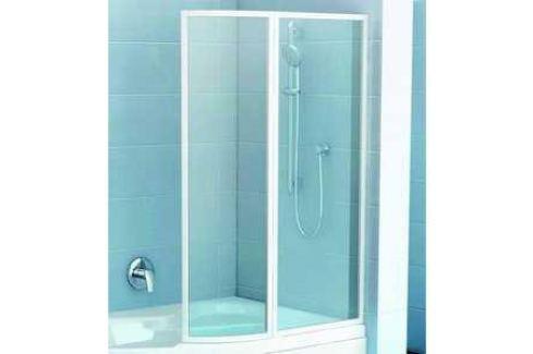 Шторка на ванну Ravak Vsk2 Rosa 160 R, 160х150 см, правая (76P90100Z1) Шторки для ванной