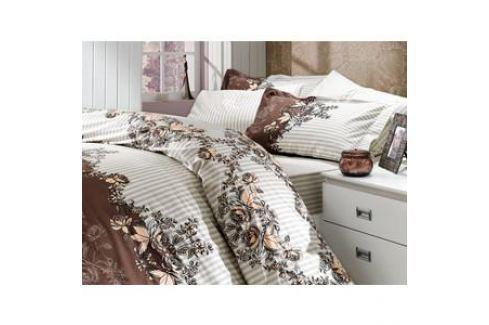Комплект постельного белья Hobby home collection 1,5 сп, поплин, Delfina, коричневый (1501000088) Электроника и оборудование