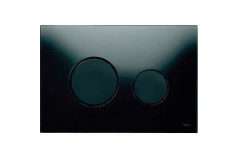 Панель смыва TECE TECEloop (9240657) стекло чёрное, клавиши чёрные Инсталляции