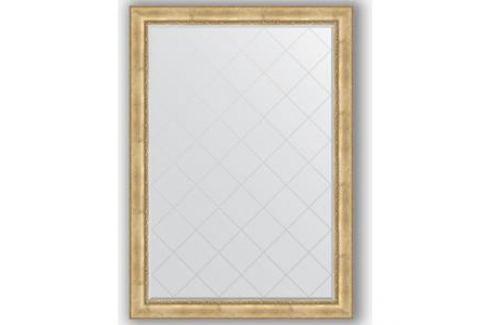 Зеркало с гравировкой поворотное Evoform Exclusive-G 137x192 см, в багетной раме - состаренное серебро с орнаментом 120 мм (BY 4514) Мебель для ванных комнат