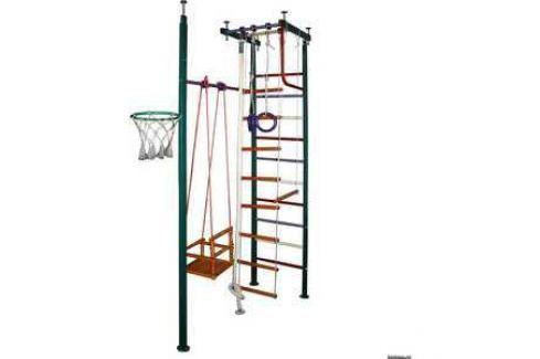 Детский спортивный комплекс Вертикаль 10М (ПВХ-покрытие) Домашние