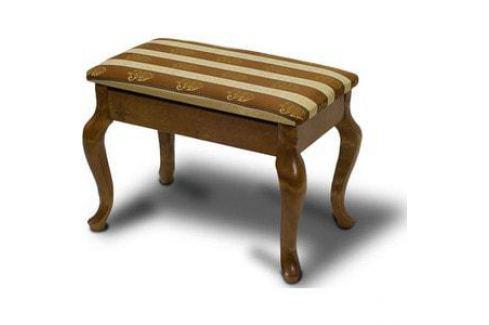 Банкетка Мебелик Ретро с ящиком средне-коричневый Банкетки