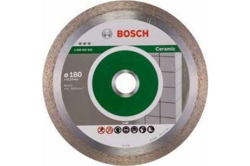 Диск алмазный Bosch 180х22.2 мм Best for Ceramic (2.608.602.633) Алмазные диски